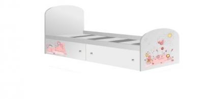 Кровать с ящиками Мишка Тедди
