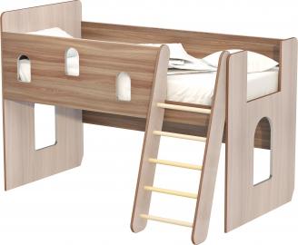 """Кровать """"Айвенго"""" с лесенкой правая/левая"""