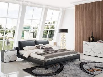 Кровать двуспальная ESF 1150 ( 160 ) чёрный