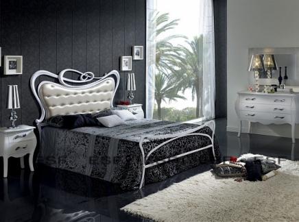 Кровать двуспальная DUPEN 505 Sofia (180) белая