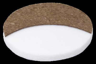 Круглый матрас из ортофайбера с кокосом и латексом