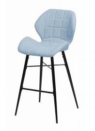 Барный стул MARSEL небесно-голубой