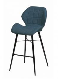 Барный стул MARSEL полночный синий