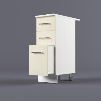 Шкаф напольный 300 х 850 х 600 с 3-мя выдвижными ящиками
