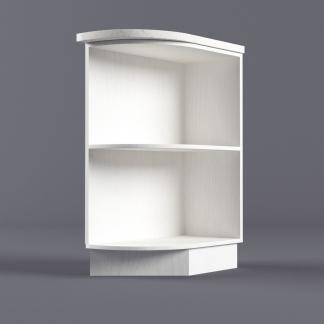 Шкаф напольный 300 х 850 х 600 радиус правый