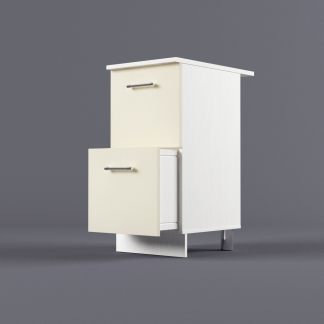 Шкаф напольный 400 х 850 х 600 с 2-мя выдвижными ящиками