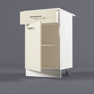 Шкаф напольный 500 х 850 х 600 с выдвижным ящиком