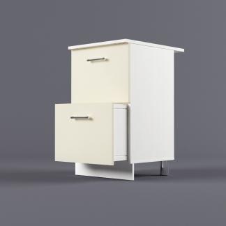 Шкаф напольный 500 х 850 х 600 с 2-мя выдвижными ящиками