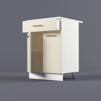 Шкаф напольный 600 х 850 х 600 с выдвижным ящиком
