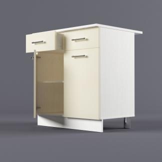 Шкаф напольный 800 х 850 х 600 с выдвижными ящиками