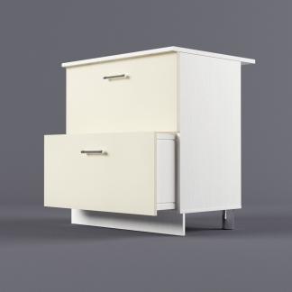 Шкаф напольный 800 х 850 х 600 с 2-мя выдвижными ящиками