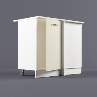 Шкаф напольный 1000 х 850 х 600 угол правый