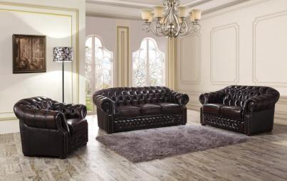 Кресло В-128 коричневый
