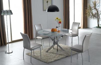 Стол 2303 ультра-белое стекло