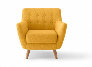 Кресло PICASSO горчичный