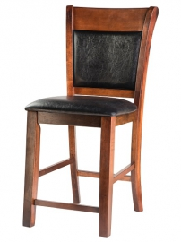 Полубарный стул LMB-1602 Esperesso&Black