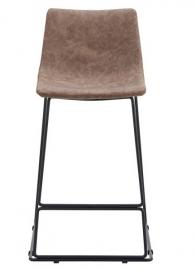 Полубарный стул CQ-8347B Brown