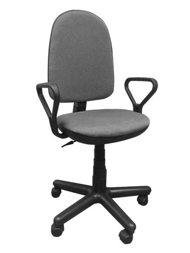 """Компьютерный стул """"Гранд самба"""" Серый"""