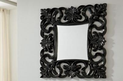 PU021 BLACK Зеркало DUPEN
