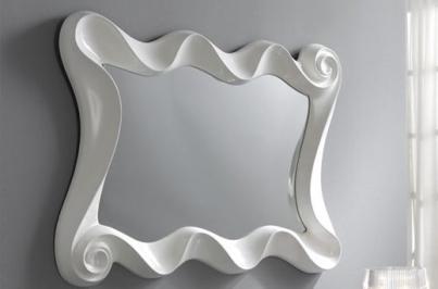 PU183B WHITE Зеркало DUPEN