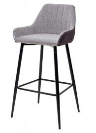 Барный стул PUNCH антрацитовый меланж