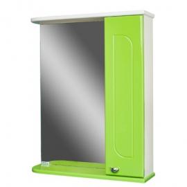 Шкаф навесной с зеркалом   РАДУГА 50 яблоко-R правый