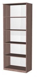 Шкаф-стеллаж открытый пятиярусный ,двухсекционный Эконом