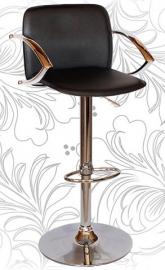 Барный стул 3019 чёрный