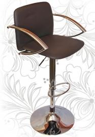 Барный стул 3019 коричневый