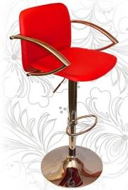 Барный стул 3019 красный