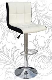 Барный стул 5006 бело-чёрный
