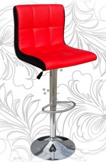 Барный стул 5006 красно-чёрный