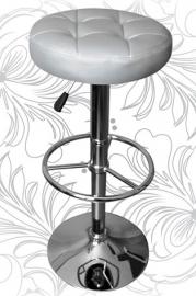 Барный стул 5008 серебро