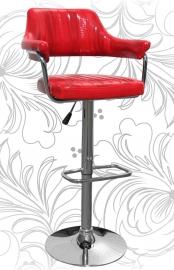 Барный стул 5019 красный крокодил