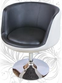 Барный стул 5032 CUP бело-чёрный