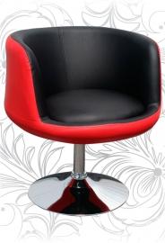 Барный стул 5032 CUP красно-чёрный