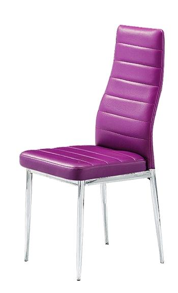 Стул F 261-3 Пурпурный