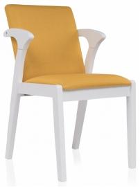 Стул ARTIS white&yellow