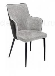 Стул BENZA Grey Fabric / Black