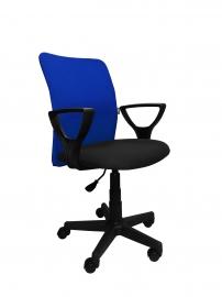 Компьютерный стул ТОМ (сине-чёрный)