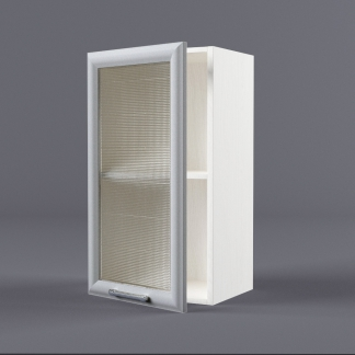 Шкаф навесной 400 х 720 х 300 рамка со стеклом