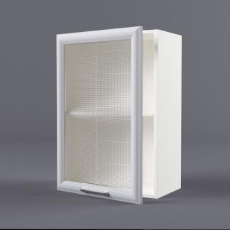 Шкаф навесной 500 х 720 х 300 рамка со стеклом