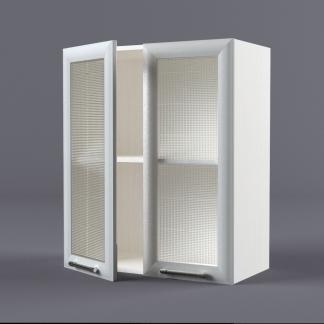 Шкаф навесной 600 х 720 х 300 рамка со стеклом