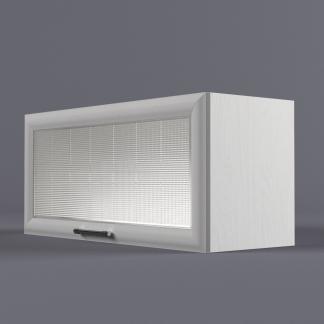 Шкаф навесной 800 х 360 х 300 рамка со стеклом