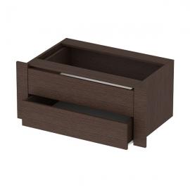 Модуль с ящиками к шкафу-купе Венге